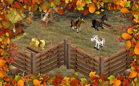 YoVille horse ranch