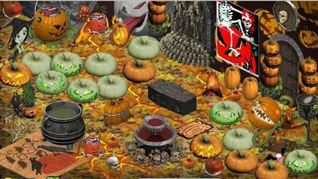 YoVille pumpkin patch