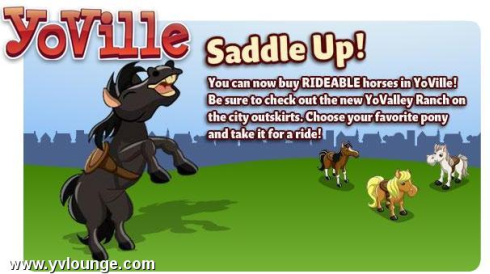 YoVille Saddle Up!
