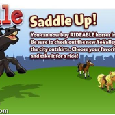 YoVille: Saddle Up with Horses at the new Yo Valley Ranch