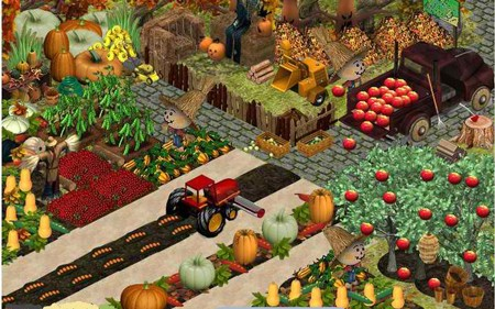 FarmVille in YoVille: Zion's veggie patch has everything you need for the winter!