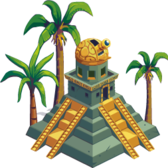 Treasure Isle: Build the Ziggurat Relic for extra energy