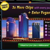 Zynga Poker Vegas Giveaway: Buy chips for a chance to win