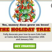 Cafe World Holiday Tree: Everything you need to know