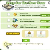 Cafe World Prep for the New Year Mission: Everything you need to know