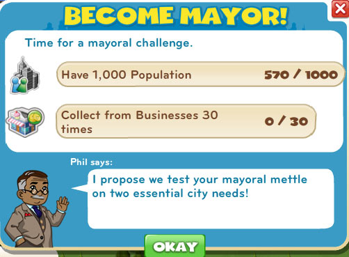 cityville cheats become mayor