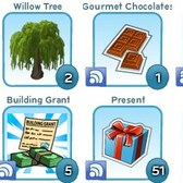 CityVille: Inventory Limit raised to 500 - keep collecting those presents!