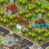 CityVille Cheats and Tips: How Decorations Earn You More Coins
