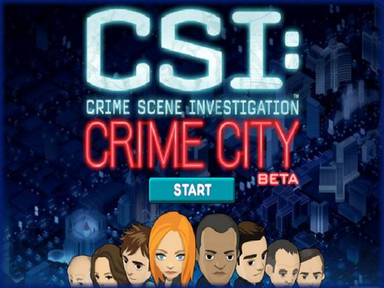 Facebook Game CSI Crime City, Game Online dari Serial TV CSI