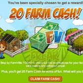 FarmVille attempts to lure back AWOL players with 20 free Farm Cash