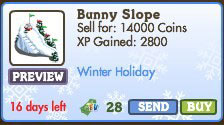 farmville bunny slope