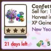 FarmVille New Years Tree: Confetti Tree