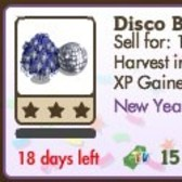 FarmVille Disco Ball Tree makes an appearance in the market