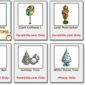 FarmVille: Free Gifts page updated with six new Holiday items, including trees