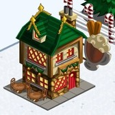 FarmVille New Winter Holiday Items: Dancing Snow Lady, Winter Cafe, Candy Cane Cow & Much More