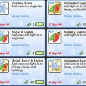 FarmVille Holiday Snow & Lights now available in the market