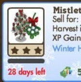 FarmVille: Mistletoe Tree and Ornament Tree now available