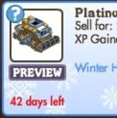 FarmVille: Platinum Combine now available, but only for the Holidays