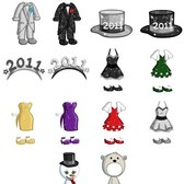 FarmVille Sneak Peek: New Year's Party Dresses, Tuxedos, and other Avatar costumes