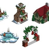 FarmVille Sneak Peek: Winter Bridge, Frozen Pond, Stocking Arch, Holiday Trees & More