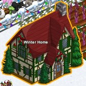 FarmVille Winter Holiday items: Sweet Shop, Pond, Stockings Arch, Winter Teddy &amp; more
