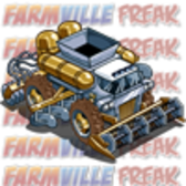 FarmVille Sneak Peek: Gold and Silver Swiss Army Combine Tractor