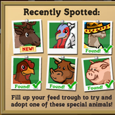 FarmVille: Reindeer now available through Feed Trough