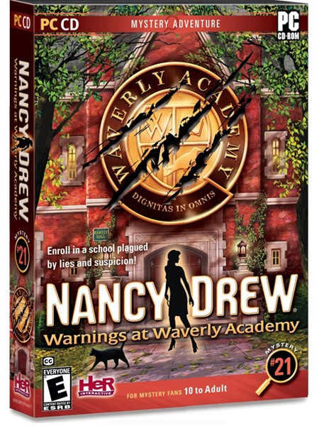 free nancy drew warnings waverly academy giveaway