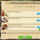 FrontierVille 12 Days of Christmas Missions: Everything you need to know for Day 7