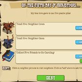 FrontierVille 12 Days of Christmas Missions: Everything you need to know for Day 5