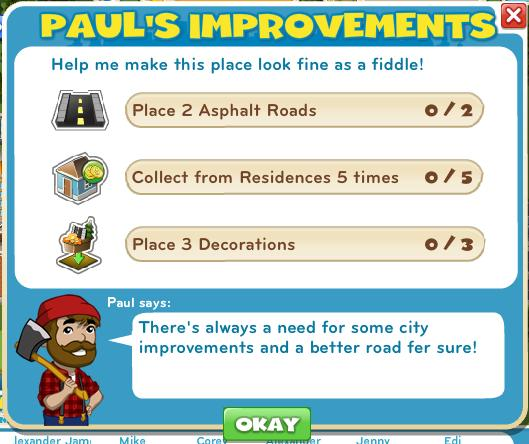 Paul's Improvements