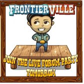 FrontierVille Flash Mob Party: 50 Horseshoes, five winners, be there