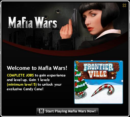 Mafia Wars Candy Cane
