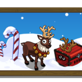 FrontierVille Mystery Reindeer Crate: Collect all three to find Rudolf