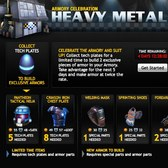 Mafia Wars Heavy Metal Armory Celebration - Build exclusive items for a limited time
