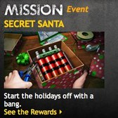 Mafia Wars Secret Santa mission ushers in the Holidays for a limited time