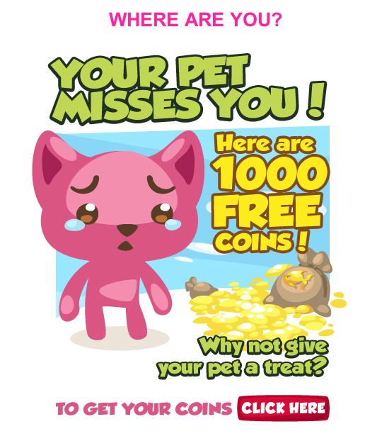 pet society pet misses you
