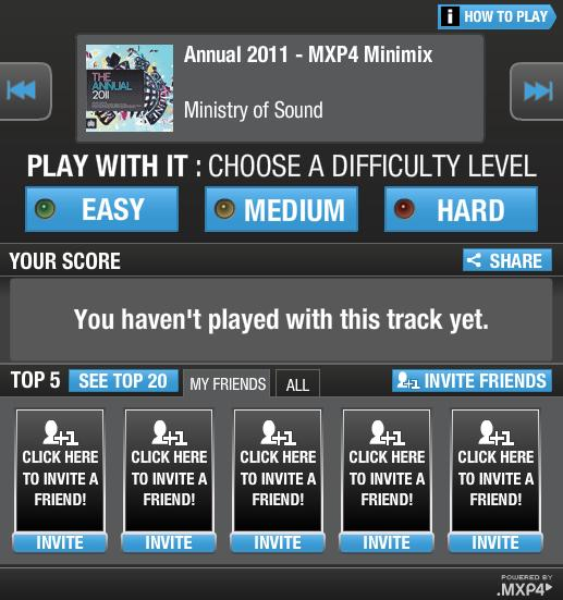 Pump It Main Menu