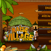 Raise the Village on iPhone: An inspiring game of making a difference
