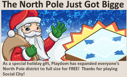 North Pole Expansion