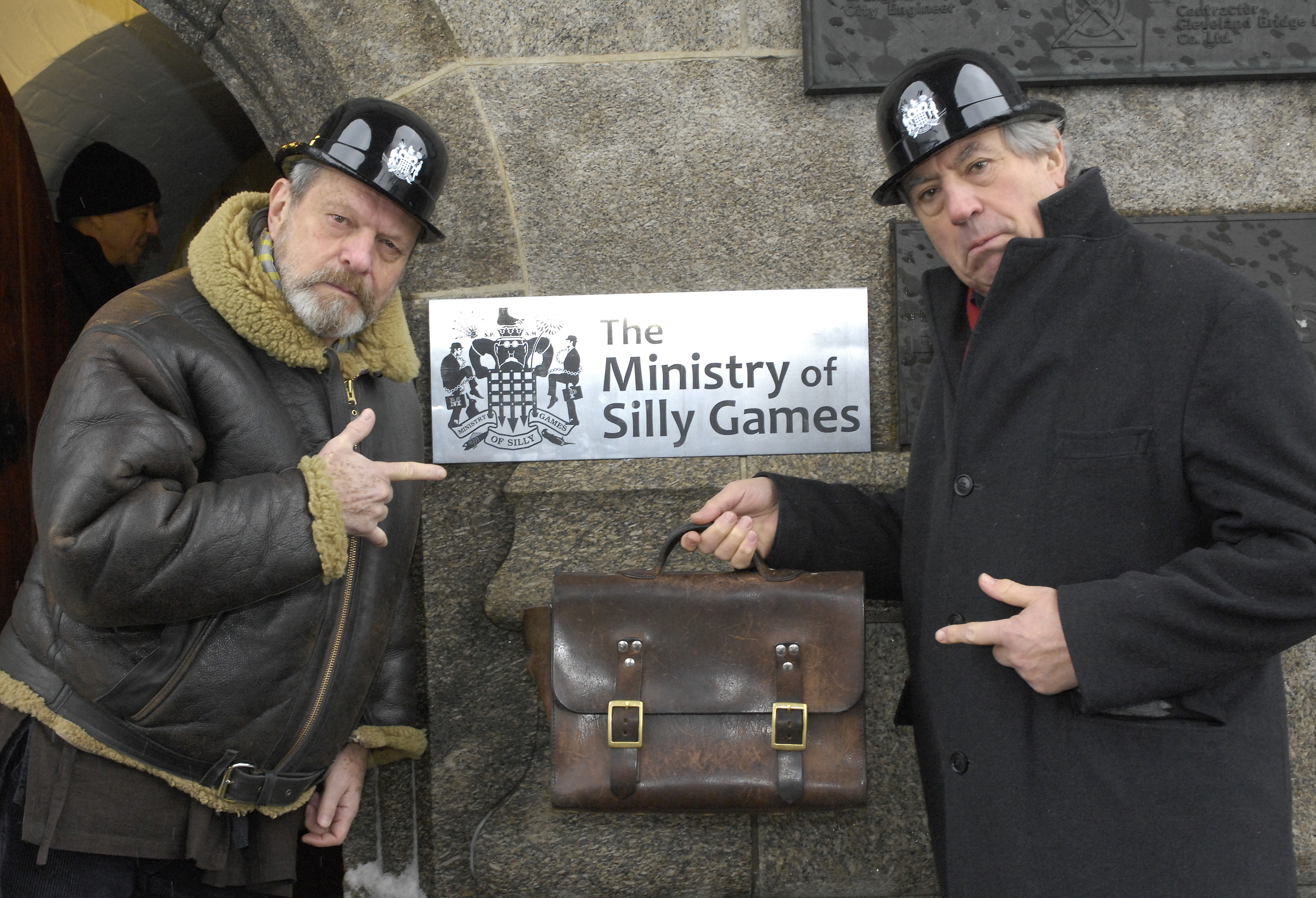Terry Gilliam and Terry Jones