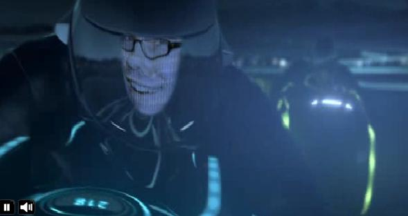 Tron Legacy on Facebook