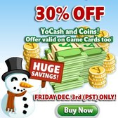 YoVille offers 30% Off Sale on YoCash and Coins