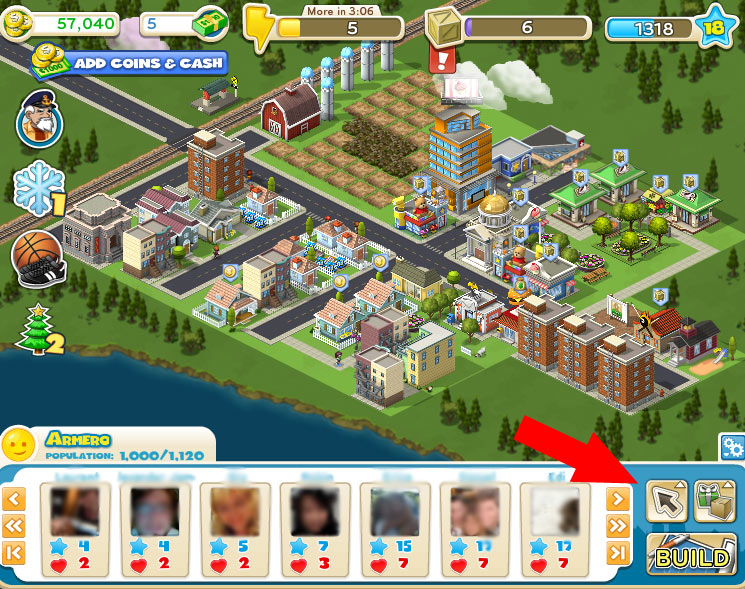 cityville cheats move items