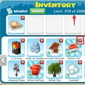 CityVille: Inventory changes attempt to add organization to the game