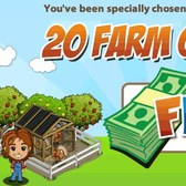 FarmVille: 20 free Farm Cash emails now in the wild