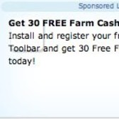 Earn 30 free FarmVille Farm Cash in Bing Rewards Promotion