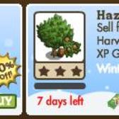 FarmVille Winter Wonderland Trees: 50% off Chestnut Tree & Hazelnut Tree