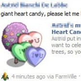 FarmVille: Giant Heart Candy trees spotted on farms