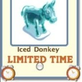 FarmVille: Iced Donkey available as free gift for a limited time